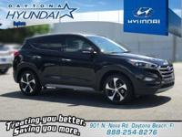 Black 2018 Hyundai Tucson Limited FWD 7-Speed Automatic