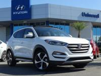 White 2018 Hyundai Tucson Value FWD 7-Speed Automatic