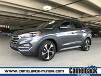 2018 Hyundai Tucson Grey 1.6L 4-Cylinder Turbocharged