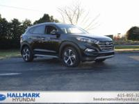 Black Pearl 2018 Hyundai Tucson Limited FWD 7-Speed