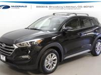 Black 2018 Hyundai Tucson AWD 6-Speed Automatic with
