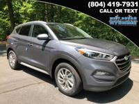 2018 Hyundai Tucson SEL 26/21 Highway/City MPG