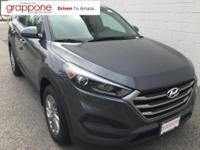 2018 Hyundai Tucson SE AWD. 26/21 Highway/City MPG