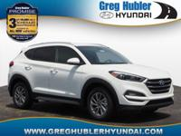 White 2018 Hyundai Tucson SEL AWD 6-Speed Automatic