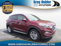 Ruby 2018 Hyundai Tucson SEL AWD 6-Speed Automatic with