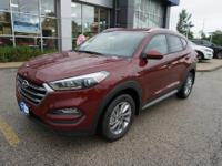 Red 2018 Hyundai Tucson SEL AWD 6-Speed Automatic with