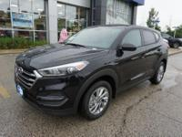 Black Pearl 2018 Hyundai Tucson SE AWD 6-Speed