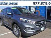 2018 Hyundai Tucson SEL Gray AWD. 26/21 Highway/City