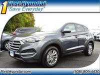 2018 Hyundai Tucson SE 4-Wheel Disc Brakes, 6 Speakers,