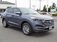 Coliseum Gray 2018 Hyundai Tucson SE FWD 6-Speed