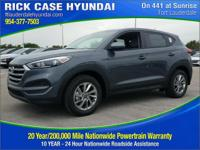 Recent Arrival! Gray 2018 Hyundai Tucson SE FWD 6-Speed