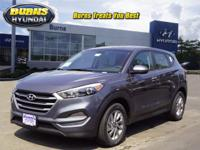Gray 2018 Hyundai Tucson SE H21332 FWD 6-Speed