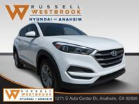 2018 Hyundai Tucson SE White FWD 6-Speed Automatic with