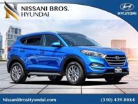 Aqua Blue 2018 Hyundai Tucson SEL FWD 6-Speed Automatic