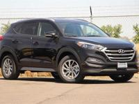Black 2018 Hyundai Tucson SEL Plus FWD 6-Speed