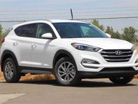 White 2018 Hyundai Tucson SEL FWD 6-Speed Automatic