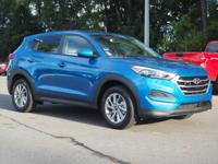 Aqua Blue 2018 Hyundai Tucson SE FWD 6-Speed Automatic