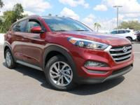 Recent Arrival! 2018 Hyundai Tucson SEL Red FWD 6-Speed
