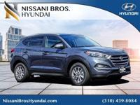 Gray 2018 Hyundai Tucson SEL Plus FWD 6-Speed Automatic