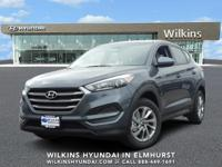 Gray 2018 Hyundai Tucson SE FWD 6-Speed Automatic with