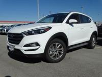 White 2018 Hyundai Tucson SEL Plus FWD 6-Speed