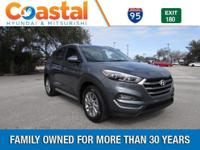 Gray 2018 Hyundai Tucson SEL FWD 6-Speed Automatic with