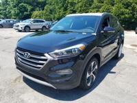 Black 2018 Hyundai Tucson Sport AWD 6-Speed Automatic