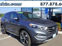 2018 Hyundai Tucson Sport Gray AWD.  Awards:   * JD