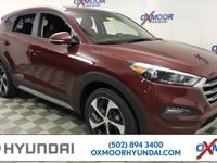 2018 Hyundai Tucson Sport 28/21 Highway/City MPG  All