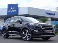 Black 2018 Hyundai Tucson Sport FWD 6-Speed Automatic