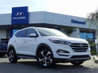 White 2018 Hyundai Tucson Sport FWD 6-Speed Automatic