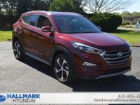 Red 2018 Hyundai Tucson Sport FWD 6-Speed Automatic