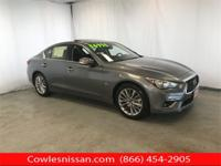CARFAX One-Owner. Graphite Shadow 2018 INFINITI Q50
