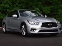White 2018 INFINITI Q50 RWD 7-Speed Automatic with