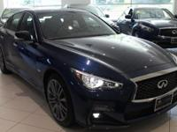 JUST ARRIVED!!  400HP!!!  2018 INFINITI Q50 Red Sport