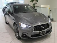 JUST IN!!  2018 INFINITI Q50 Red Sport 400, Graphite