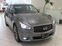 JUST IN!  2018 INFINITI Q70 3.7X, Graphite Shadow,