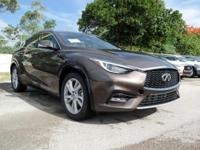 Options:  2018 Infiniti Qx30 Premium|Chestnut