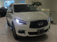 JUST IN!  2018 INFINITI QX60, Majestic White, Nav/GPS,
