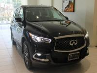 JUST IN!!  2018 INFINITI QX60, Black Obsidian,