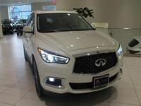 JUST IN!!  2018 INFINITI QX60, Majestic White, Nav/GPS,