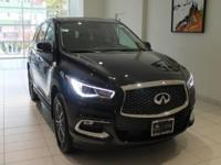 JUST IN!!  2018 INFINITI QX60 Black Obsidian, Nav/GPS,