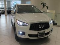 JUST IN!!  2018 INFINITI QX60 Majestic White, Nav/GPS,