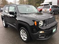 Recent Arrival! Black 2018 Jeep Renegade Latitude