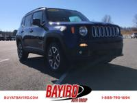 This Jeep won't be on the lot long! Settle in and