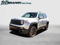 Glacier Metallic 2018 Jeep Renegade Latitude 4WD
