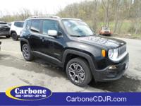 $5,366 off MSRP! 2018 Jeep Renegade Limited 29/21