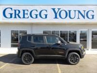 New Price! Black 2018 Jeep Renegade Trailhawk 4WD