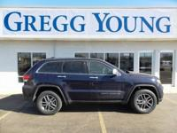 True Blue 2018 Jeep Grand Cherokee Limited 4WD 8-Speed