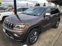 Brown Metallic 2018 Jeep Grand Cherokee Limited 4WD